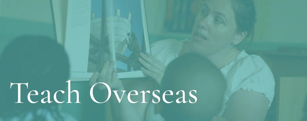 teach overseas