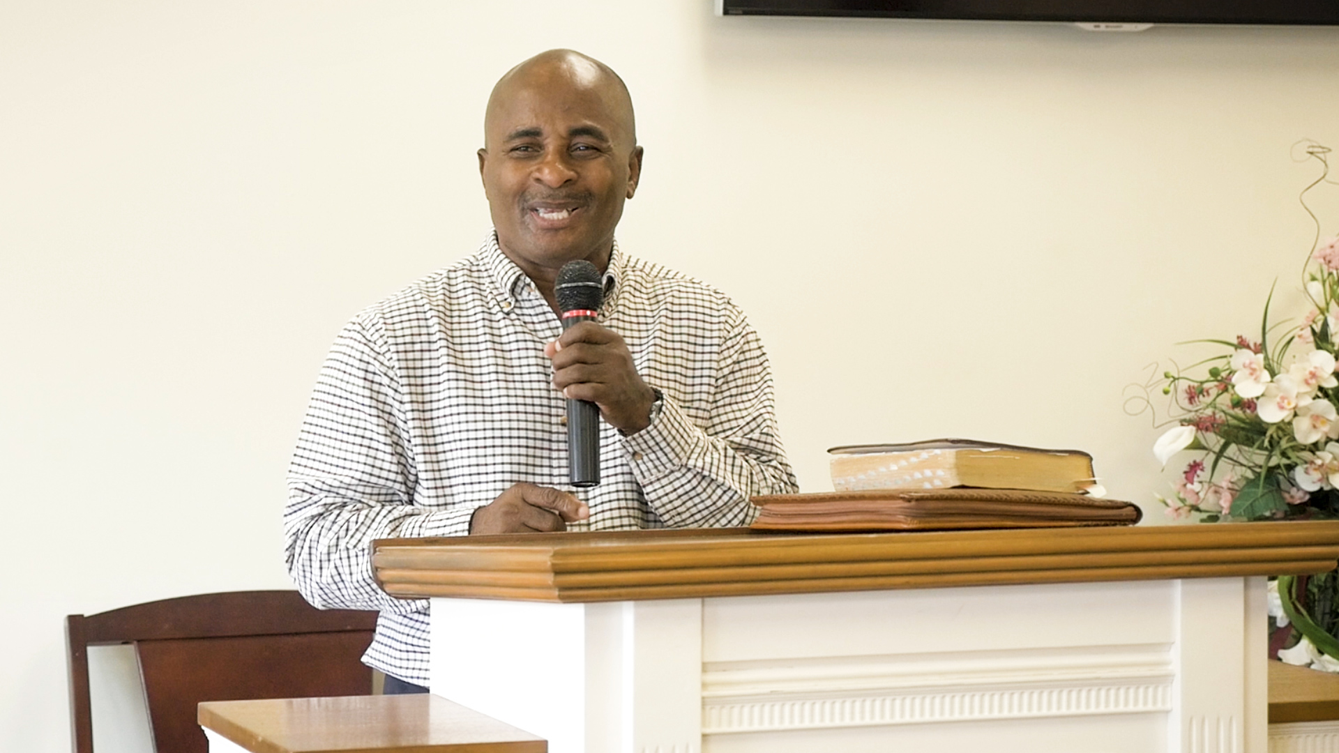 Ernest Umoh, pastor at Strong Tower Ministries