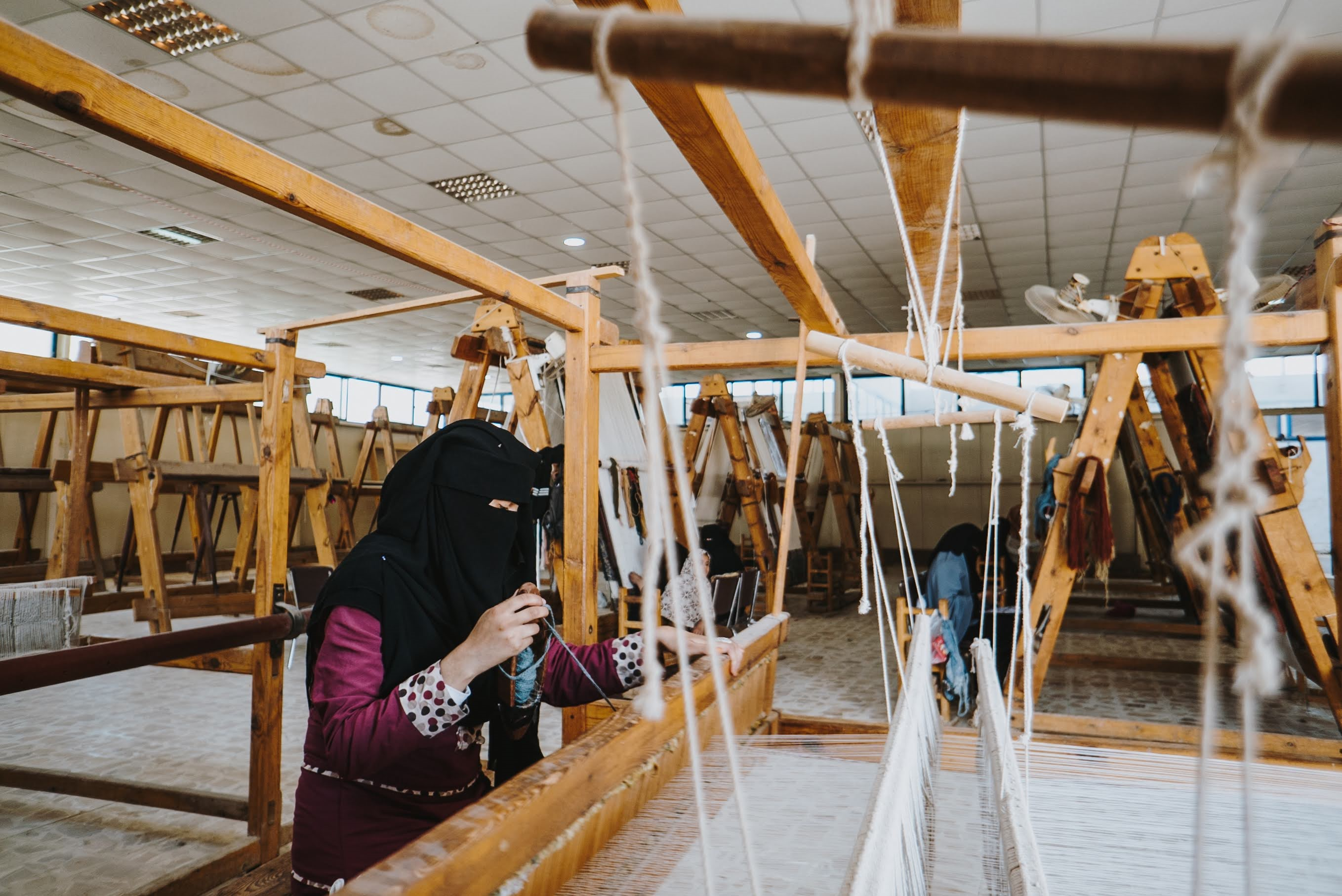 Women working in the Middle East